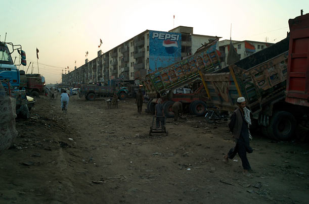 Al-Asif in Karachi has a reputation as a Taliban enclave.