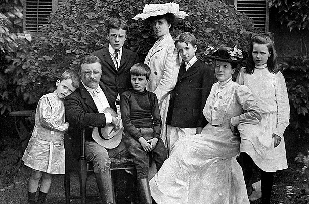 Theodore Roosevelt family children kids