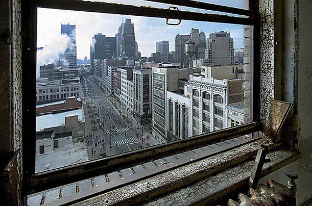 Detroit's Beautiful, Horrible Decline