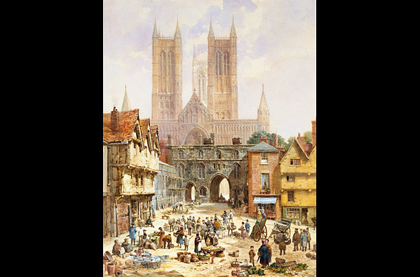 World's tallest buildings Lincoln Cathedral