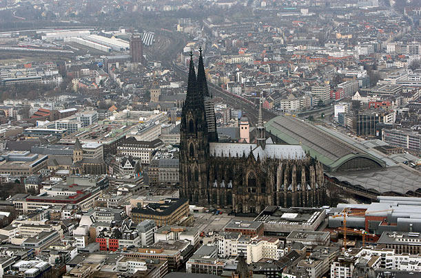 World's tallest buildings Cologne Cathedral