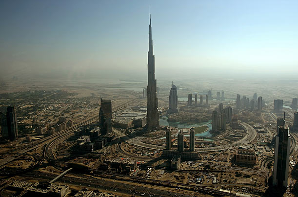 World's tallest buildings Burj Dubai
