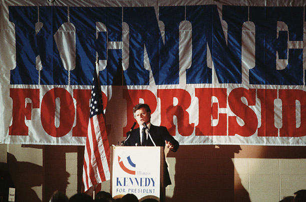 In an unusual move, Ted Kennedy started an insurgent campaign in 1980 against incumbent President Jimmy Carter, a member of his own party. Despite much early support, Kennedy lost the primary.