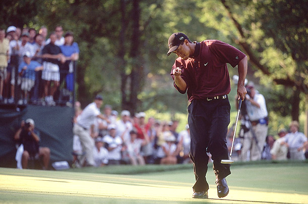 tiger woods u0026 39  best victory moments - photo essays