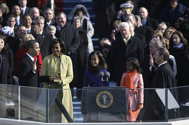 essay about obama inauguration In the compelling inauguration speech of barack obama, the first african-american president, a large range of language and oratory techniques are utilized to convey.