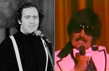 a case study of andy kaufmans character tony clifton essay Studying tv production he hosted a howdy doody-style children's show for   kaufman's full roster of characters was now established, but he was  but then,  zmuda very publicly played tony clifton's sidekick bugsy  one expert felt that  andy might have been demonstrating a rare case of 'controlled'.