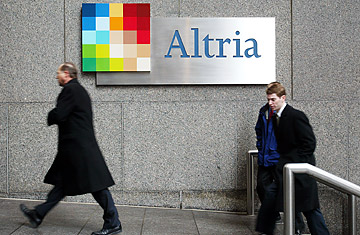 altria essays An essay or paper on strategy of atria in business altria group, the parent company to kraft, phillip morris and a host of other well-known companies, prides themselves on their commitment to innovative business practices and achievement.