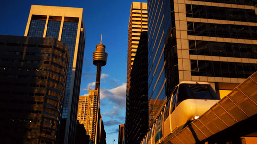 Sydney Tower and Monorail