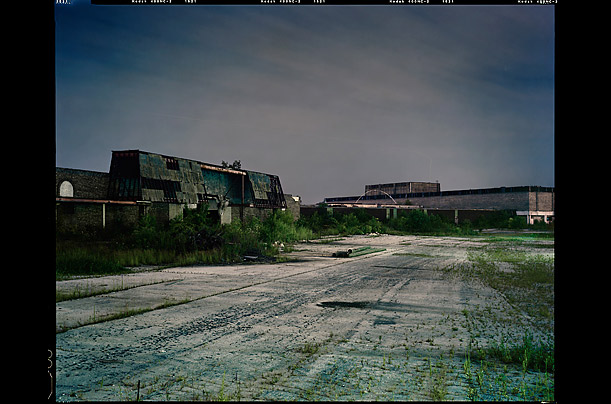 Harvey, Illinois<br />Empty for over 40 years; Ulrich photographed Dixie Square in August 2008
