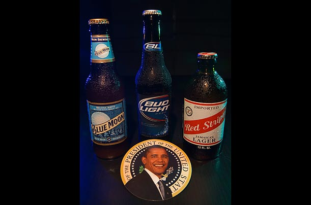Beers at the White House