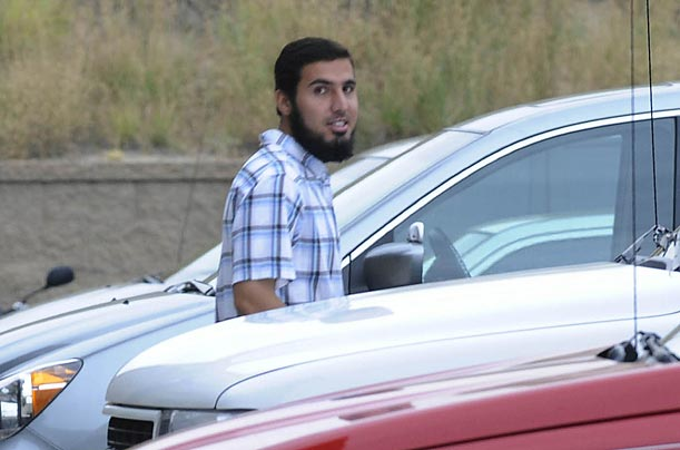 Alleged terrorist Najibullah Zazi in the Denver suburb of Aurora