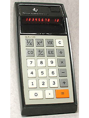 how to find square root on texas instrument calculator