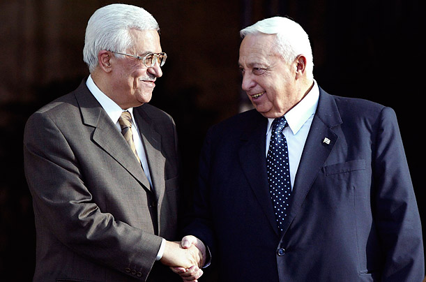 Mahmoud Abbas: Pressing the Flesh for Peace