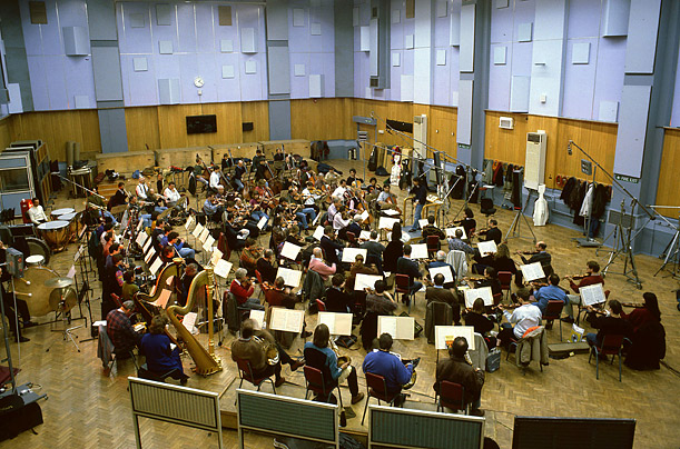 The world's largest purpose-built recording studio, studio one can easily accommodate 110-piece orchestra and 100-person choir simultaneously.