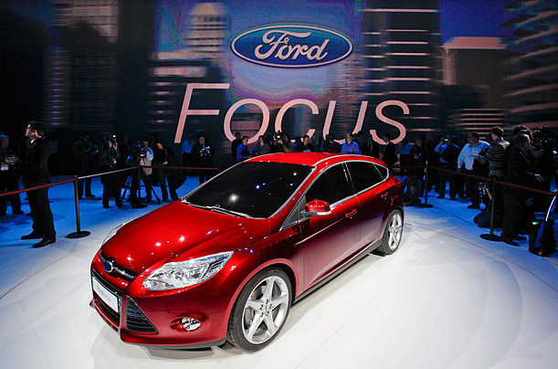 The new Ford Focus