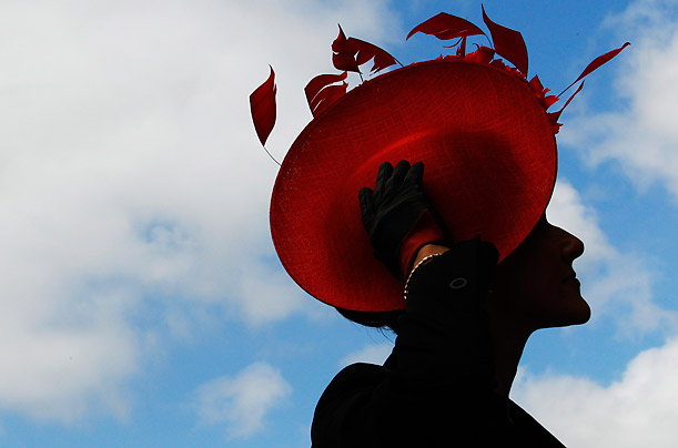 The Hats of Ascot Fans of the Royal Ascot horse races don their finest and most bizarre head gear