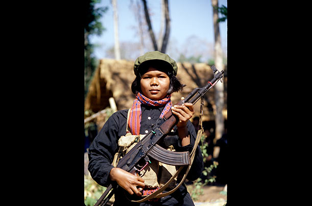 Khmer Rouge Soldier's Girl
