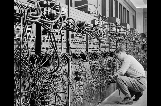 a brief history of the computer photo essays time eniac 1946 although it was finished a year too late the electronic numerical integrator