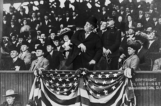 A Brief History of Presidential Opening-Day Pitches