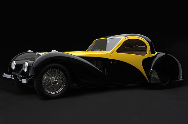 Car Design as High Style, 1930 to 1965. New retrospective exhibit at the High Museum of Art in Atlanta