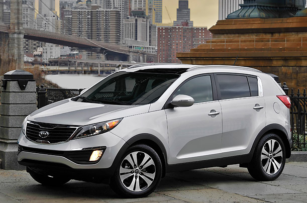 The Best Cars for 2011: Kia Sportage