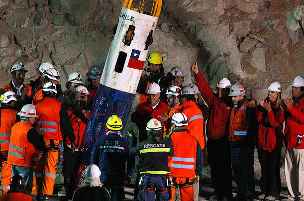 chilean miners rescue essay The 33 trailer: watch antonio banderas in the chilean miners' rescue film the story of the rescue of 33 chilean miners trapped in a collapsed mineshaft has.