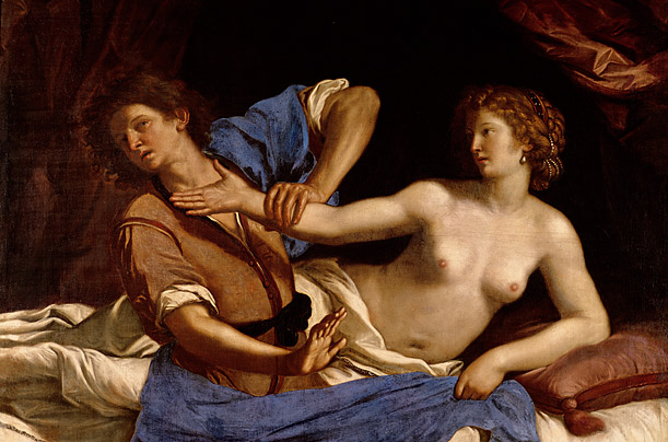 Joseph and the Wife of Potiphar, c. 1649 (oil on canvas)