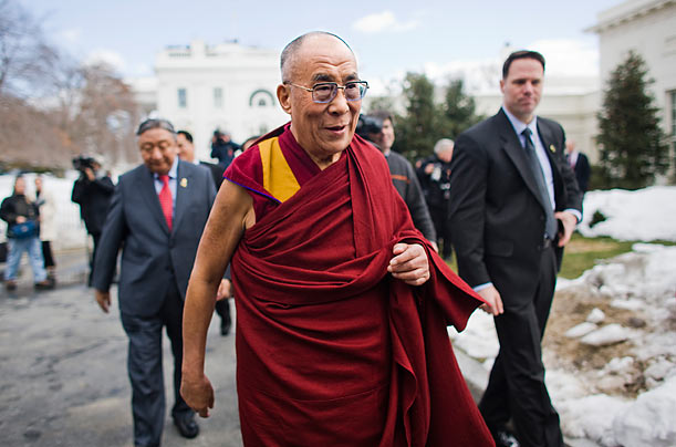 The Dalai Lama Visits the White House