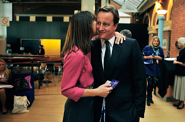 Behind the Scenes with David Cameron