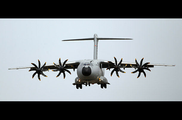 Scenes from the Farnborough International Air Show