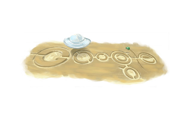 Google Doodles: H.G. Wells