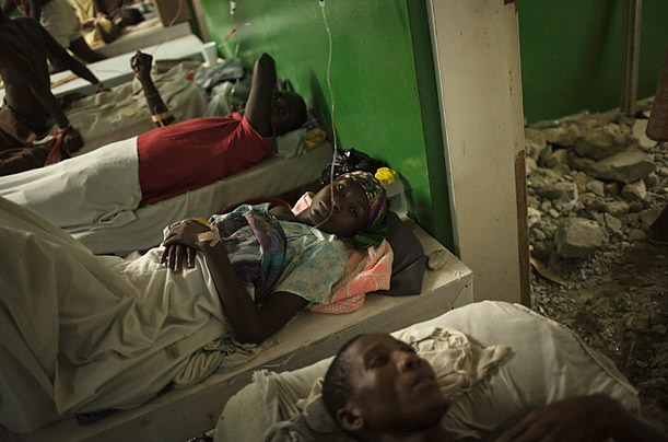 Haiti's Second Calamity: Cholera