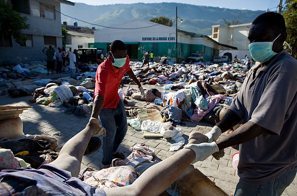 Haiti's Earthquake Destruction
