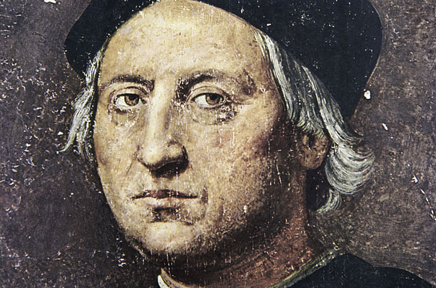 Portrait of Christopher Columbus by unknown artist