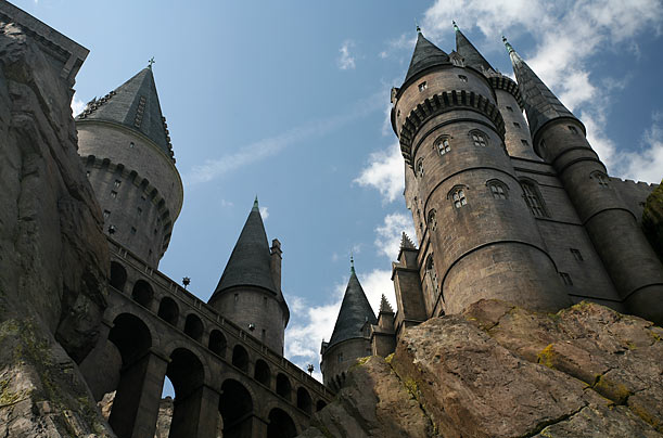 The Wizarding World of Harry Potter, including Hogwarts Castle, opened on June 18, 2010.