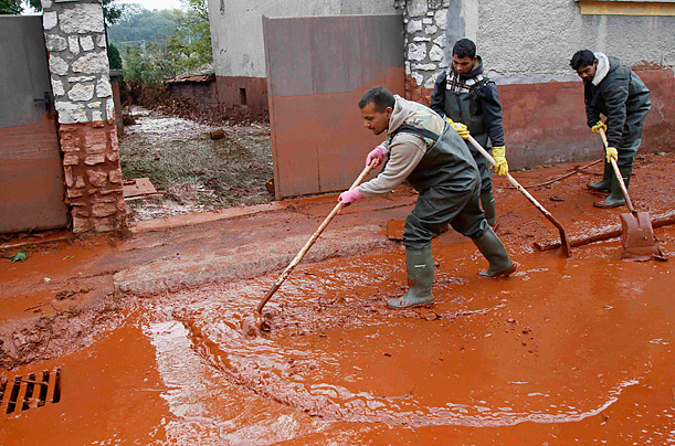 Hungary's Red Sludge