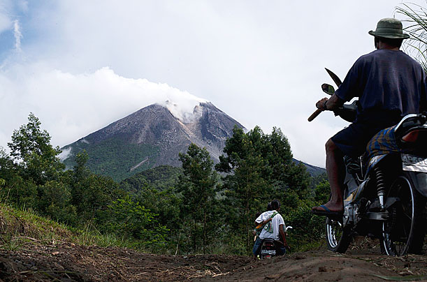 Indonesia, Mount Merapi, volcano
