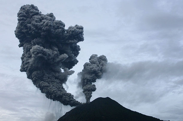 The Eruption of Mount Sinabung