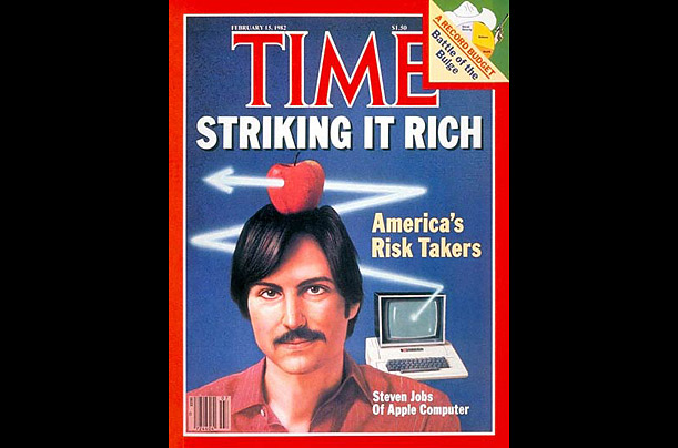 TIME Covers Steve Jobs