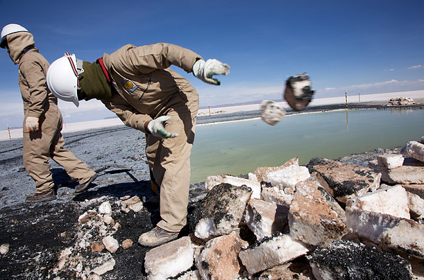 Beneath Bolivia's Salt Flats: Lithium Wealth