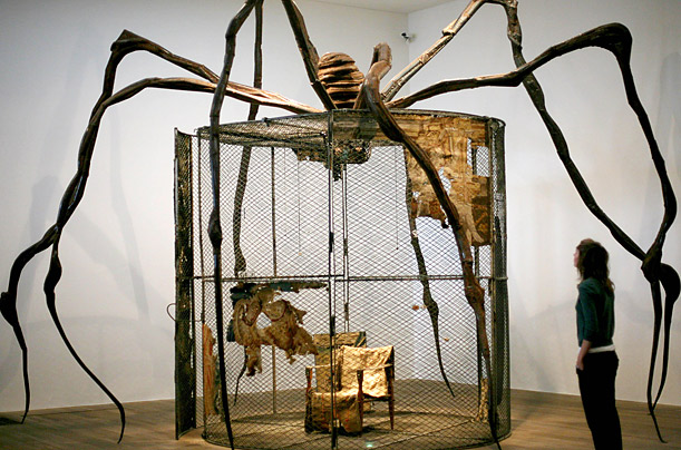 Louise Bourgeois spider cell sculpture art MOMA Tate
