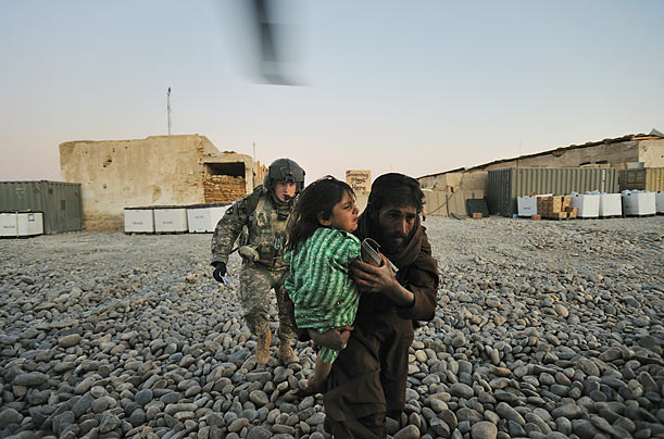 The Rescue Brigade: Photographer Lynsey Addario traveled to the front lines of Afghanistan to follow one medevac unit as it races to saved another life.