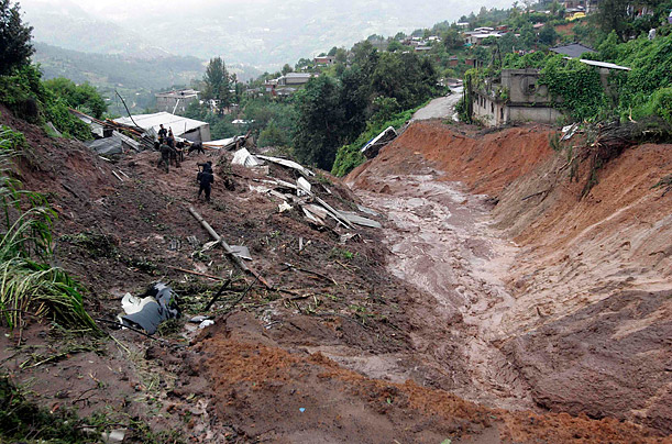 Heavy Rains and Floods Inundate Mexico and Central America