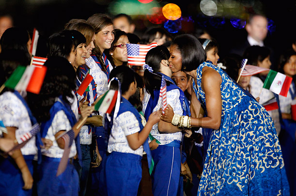 Michelle Obama Goes Overseas