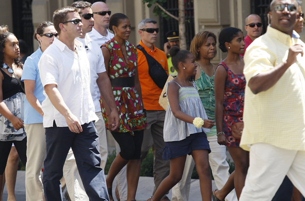 Michelle Obama, Spain, Vacation, First Lady