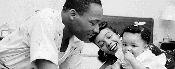 Share Martin Luther King Jr's dream of peace, love and friendship by