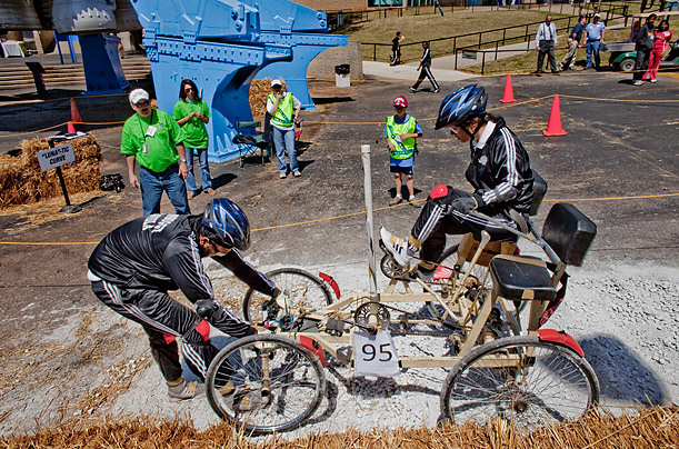 NASA's annual Great Moonbuggy Race
