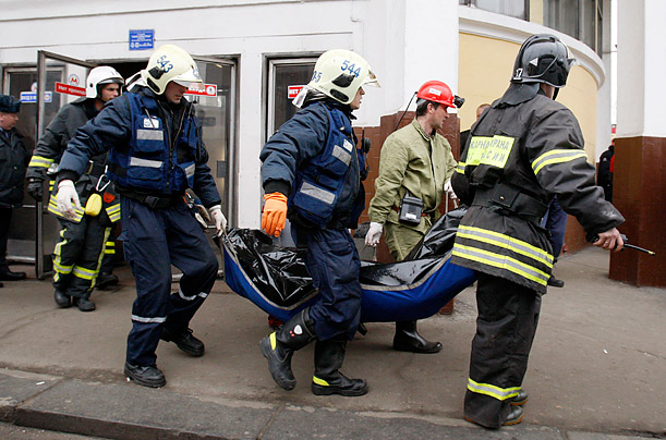Subway Explosions Kill Dozens in Moscow