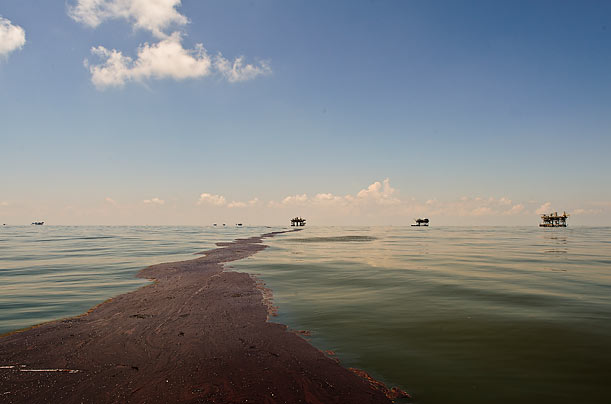 Exclusive Photos: The Oil Spill Spreads