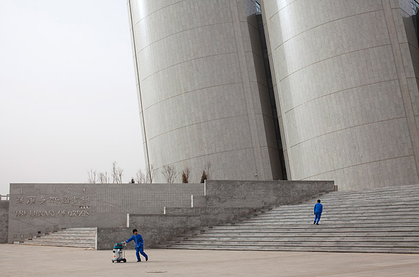 ordos modern ghost town photo essays example